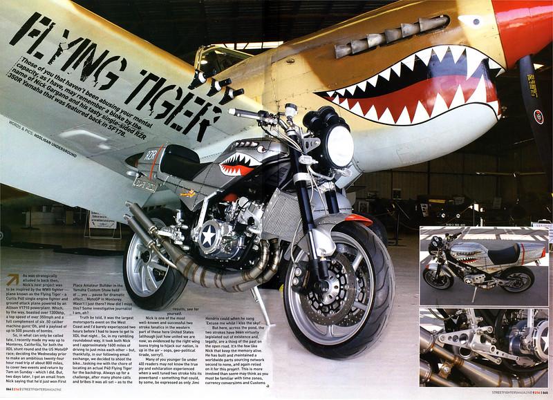 Exclusive: Nick Garganos Flying Tiger