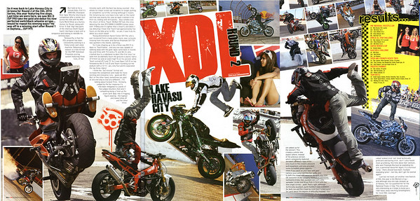 EXCLUSIVE: XDL LAKE HAVASU 3 PAGE FEATURE IN STREETFIGHTERS MAGAZINE (UK) ISSUE # 199