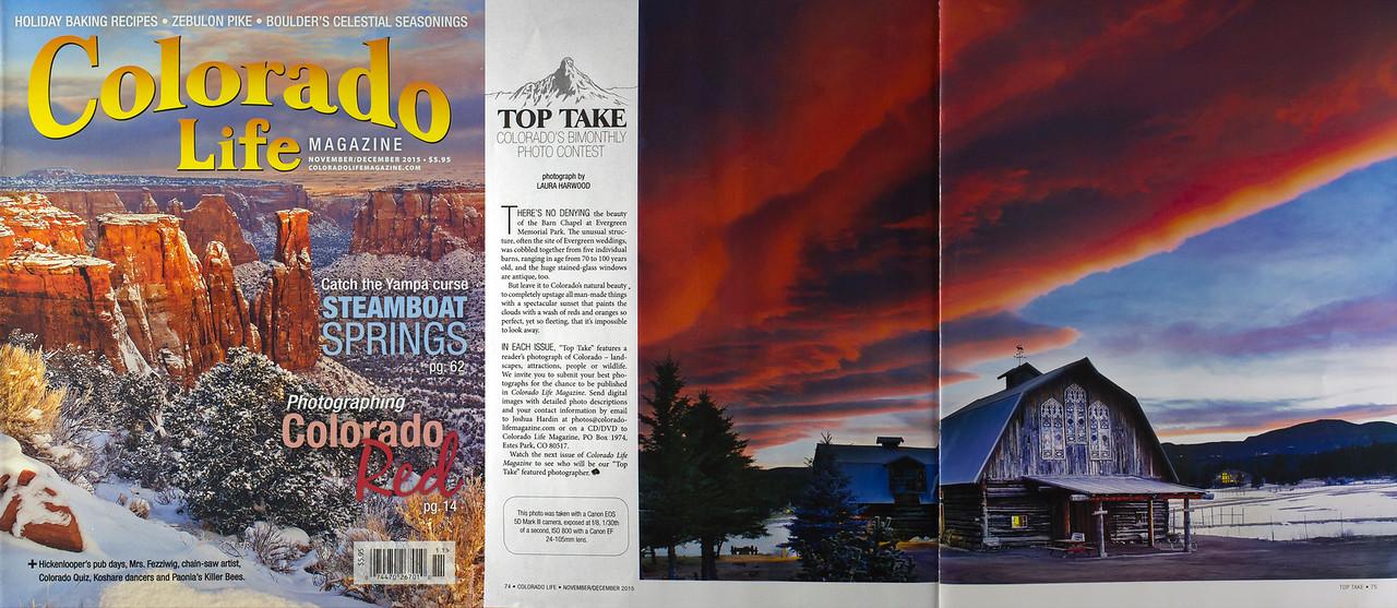 Colorado Life Top Take Photo Nov/Dec 2015 Issue