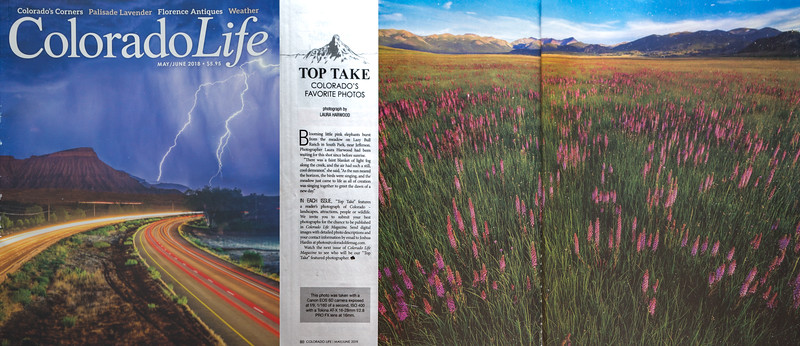 Top Take Photo Colorado Life Magazine May/June 2018