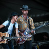 Michelle Shocked & Paul Sanchez <br /> <br /> Fais Do Do Stage- New Orleans Jazz & Heritage Festival (Thur 5/5/11)