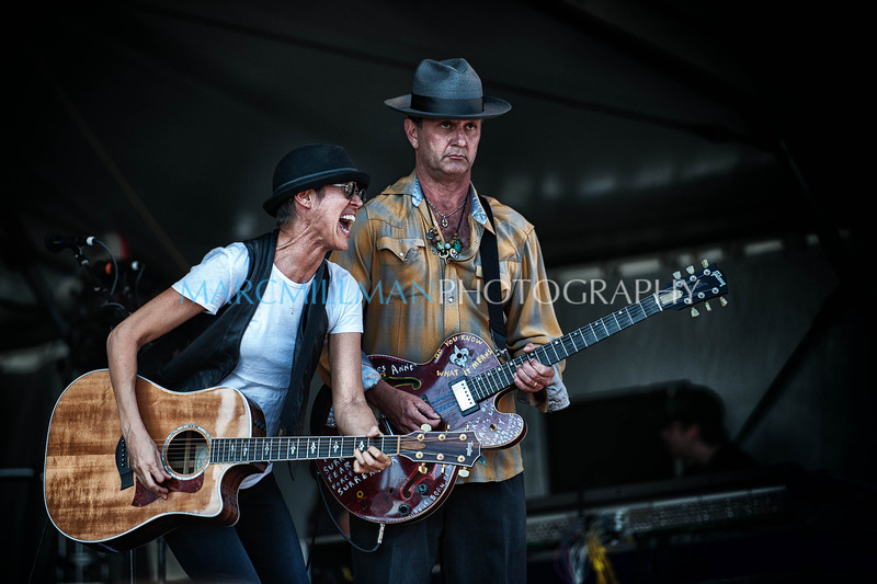 Michelle Shocked & Paul Sanchez <br /> <br /> Fais Do Do Stage- New Orleans Jazz & Heritage Festival (Thur 5/5/11)