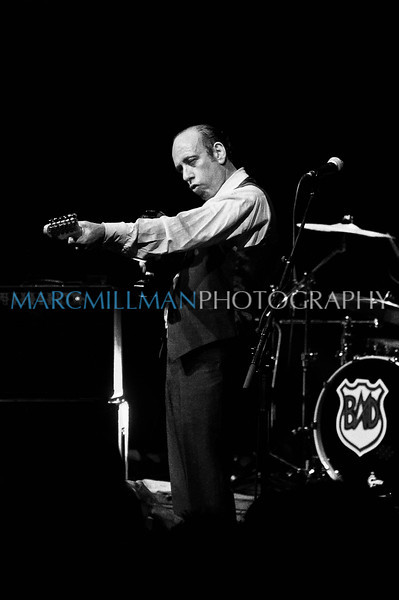 Mick Jones aims & fires!<br /> <br /> Big Audio Dynamite @ BK Bowl (Wed 8/3/11)