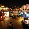 Pier 39 was pretty quiet.  The tripod was in the car but the railing worked just fine.