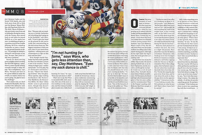 Ware decleats RGIII Sports Illustrated
