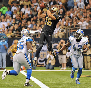 NFL Football:  Lions vs Saints DEC 04