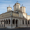 BUCHAREST. FACADE OF THE PATRIARCHAL CATHEDRAL.