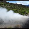Boiler Pipe Steam blowdown on Steam Train