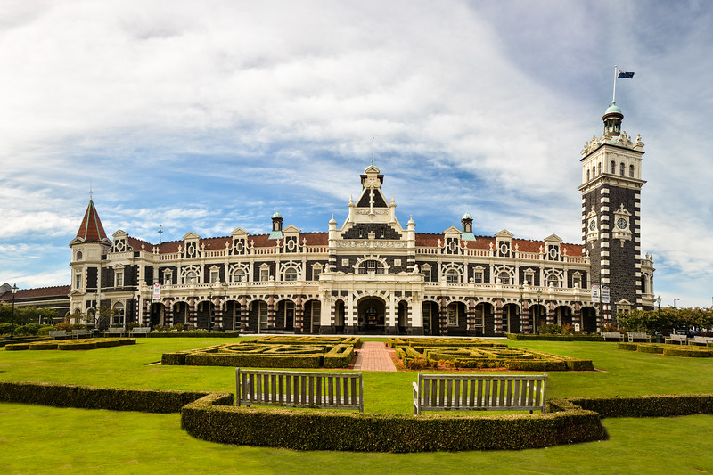 Dunedin Train station, New Zealand  (They don't build them like this anymore.)