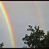 New Mexico Double Rainbow