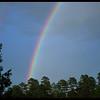 Fading Evening Rainbow