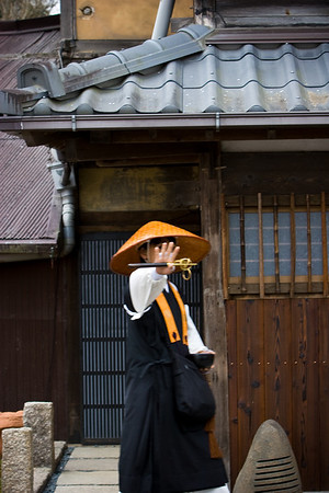 This female monk got upset when I tried to take her picture. I guess she hasn't attained enlightenment yet.