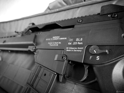 H&K SL8 - 5.56 NATO