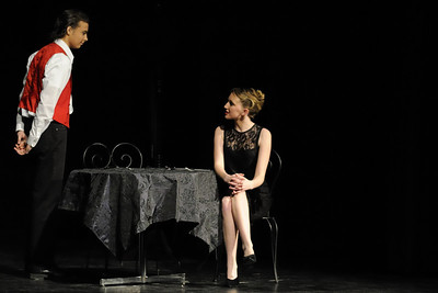 Stanley and Miss Forsyth (Adam Pike and Katie Monk)