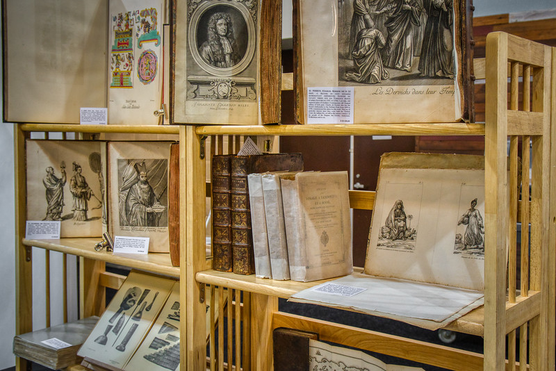Rare Books on display in Pasadena