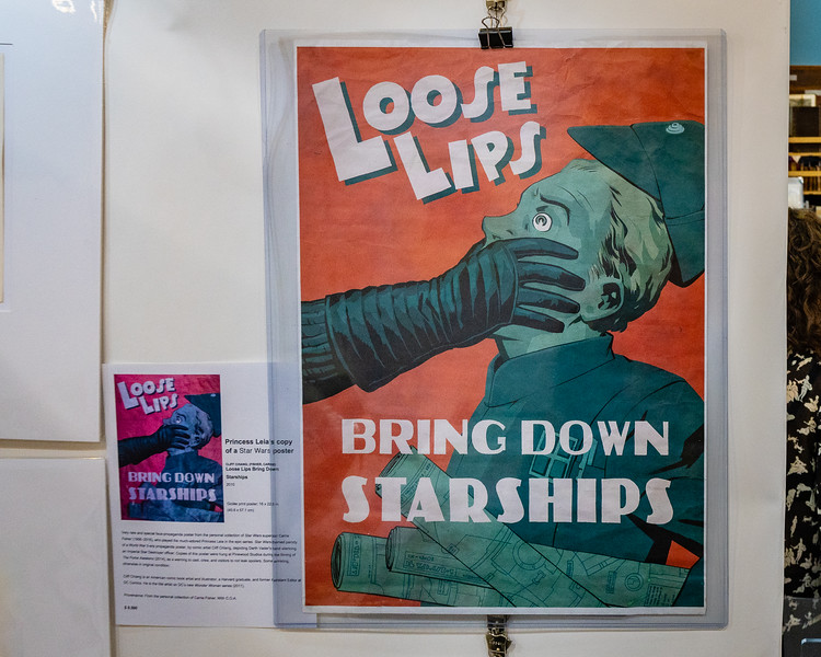 Loose Lips poster from Pinewood Studios