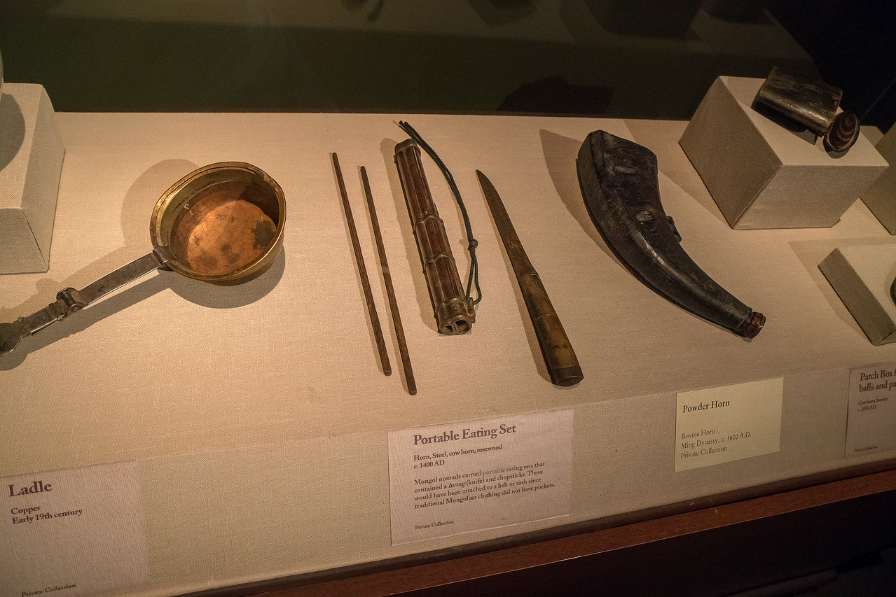 Mongolian tools, especially the Portable Eating Set