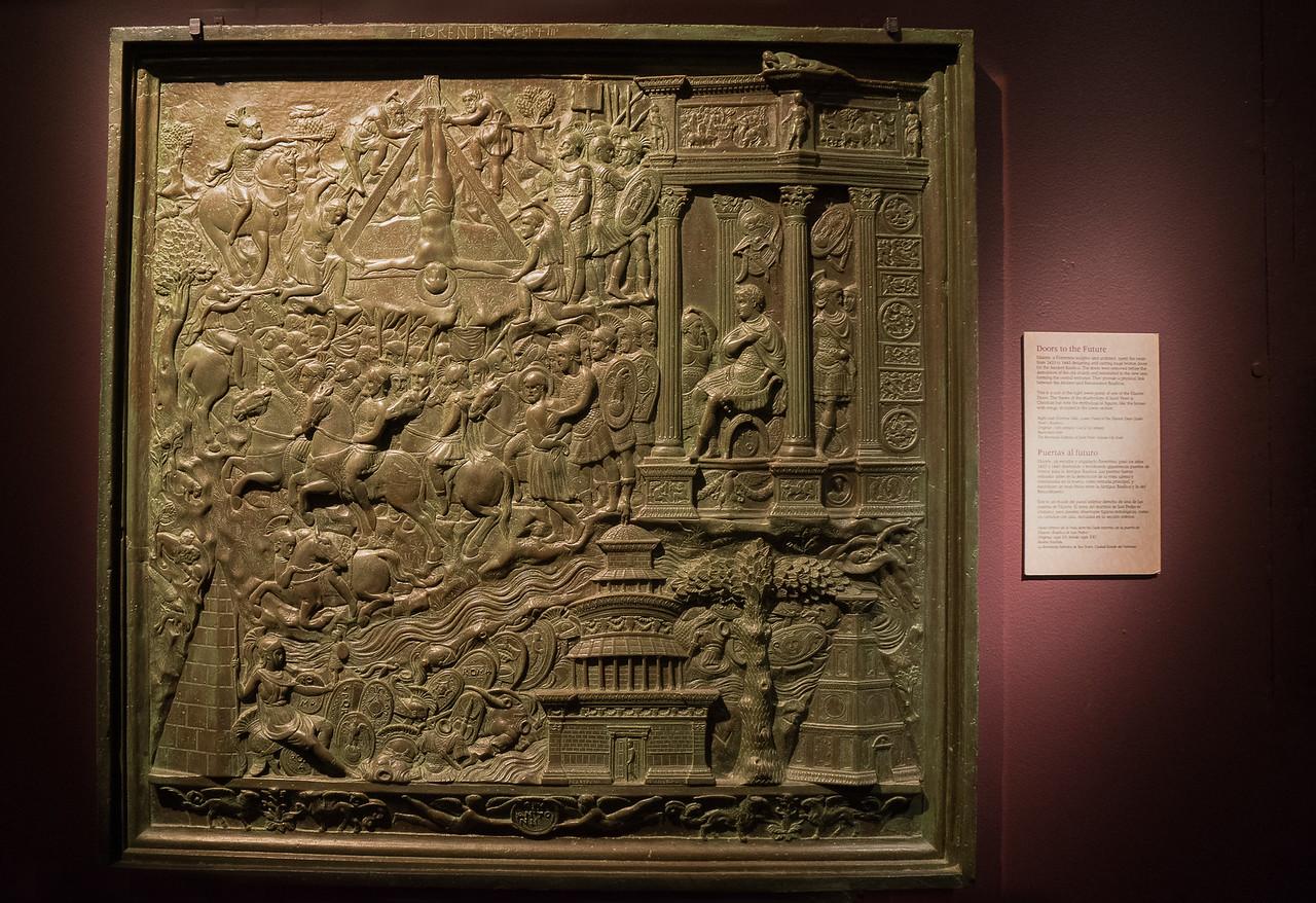 Cast of a Panel from Filarete's Bronze Door