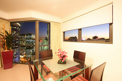 Aurora Towers, Brisbane. Photography by Trent Williams