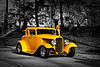 Ford Hot Rod - Yellow