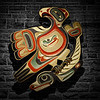 Indigenous Art - Eagle and Salmon