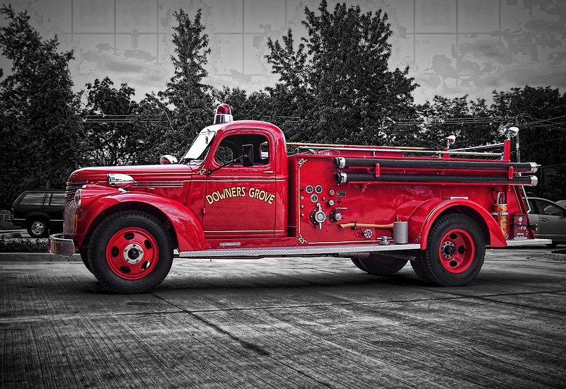 Downers Grove Fire Truck