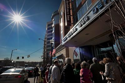 Ann Arbor Bus Depot Sun