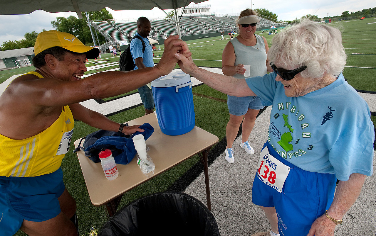Michigan Senior Track & Field Olympics