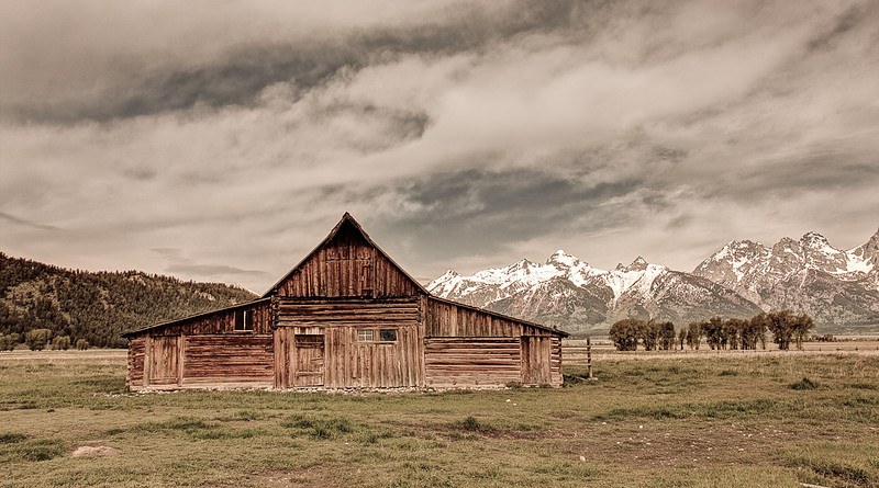 """Mormon Barn"""