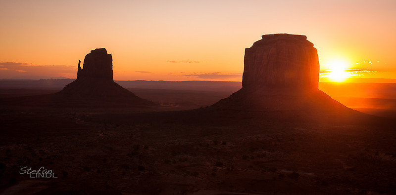 """Monument Valley Sunrise - Part II"""