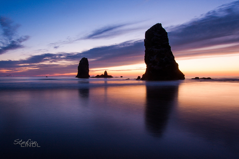 """Oregon Coast Sunset"""
