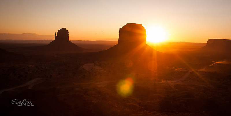 """Monument Valley Sunrise"""