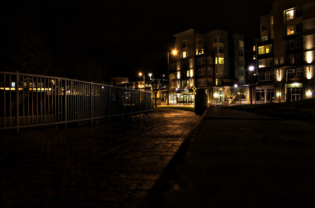 Redmond Nights - taken last week.
