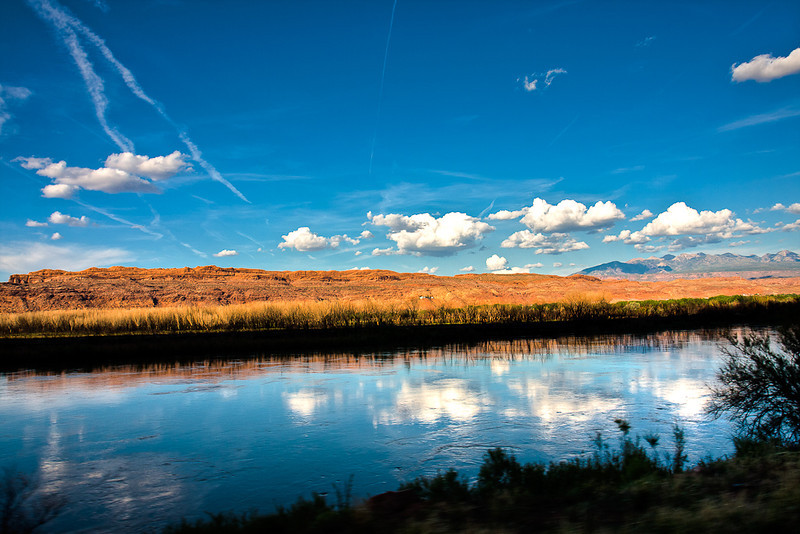 """Colorado River outside the Grand Canyon"""