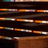Backlit bench