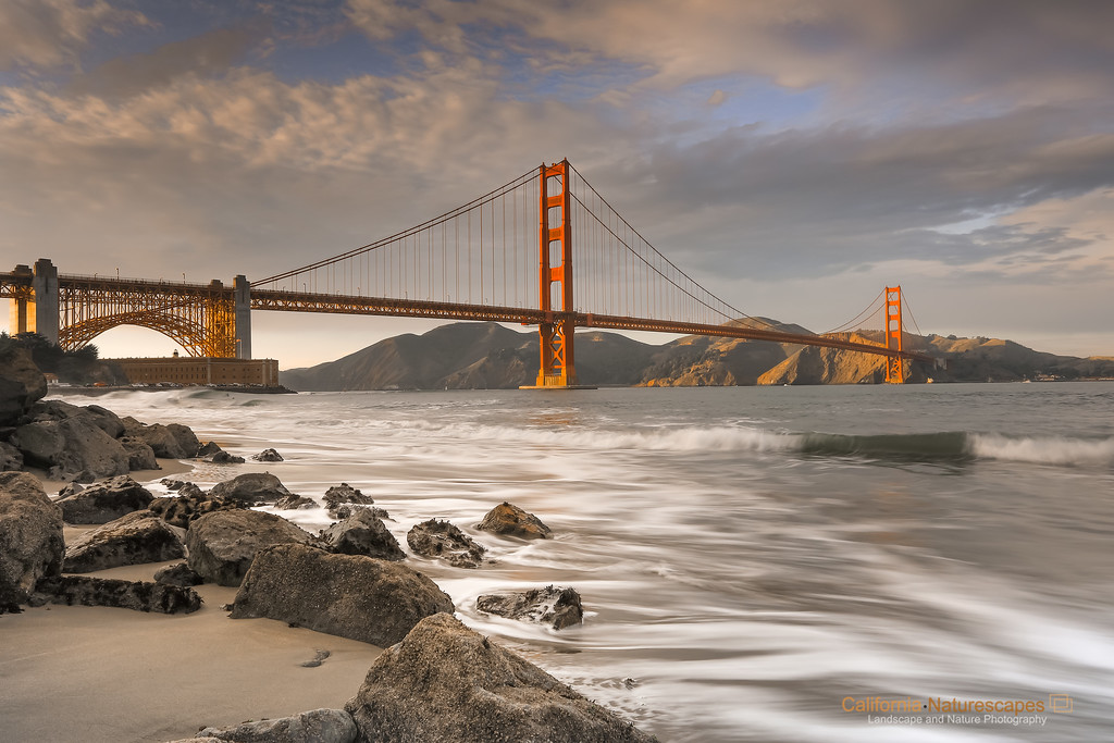 Golden Gate Evening