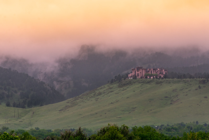 NCAR in the fog