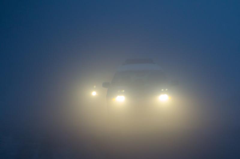 Foggy Boulder morning