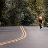 Country road biking