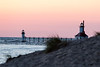 Lighthouse from Silver Beach, St. Joseph Michigan
