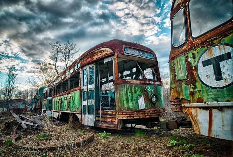 """Abandoned """"T"""" Train"""