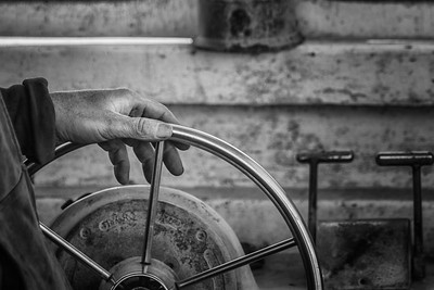 Captain's Wheel, juried show for Maine Maritime Museum 2017