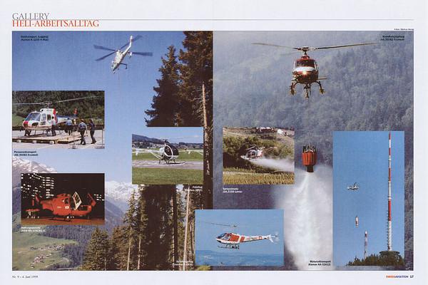 Swiss Aviation - Gallery Heli-Arbeitstag Jun 1999