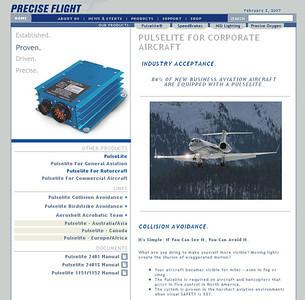 Precise Flight - Website