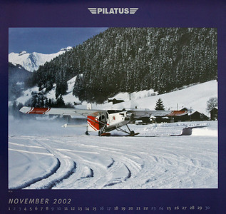Pilatus Aircraft - Calendar 2002