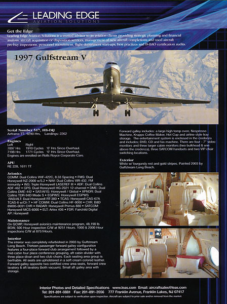 Leading Edge Aviation Solutions - Advertisement 2006