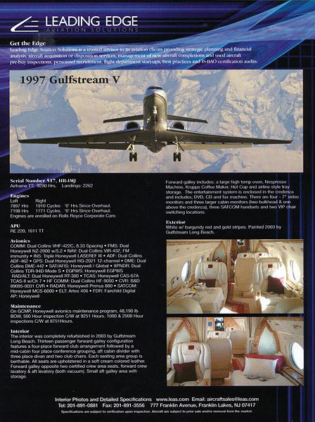 Leading Edge Aviation Solutions - Advertisement 2006