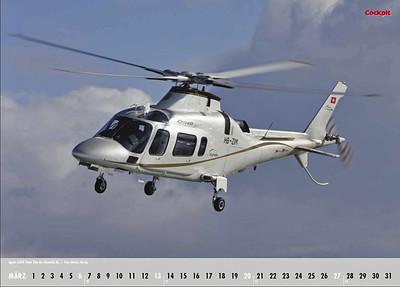 Cockpit Calendar – Rotorworld Mar 2011 - HB-ZIM