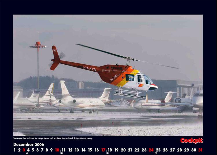Cockpit Calendar – Rotorworld Dec 2006