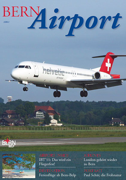 Bern Airport - Magazine Cover No.1 2011
